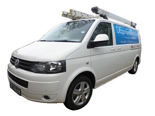 DEganGas Services Van