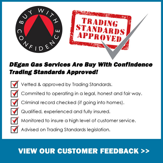 DEgangas Services are buy with confidence trading standards approved